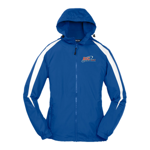 Sport-Tek® Youth Fleece-Lined Colorblock Jacket