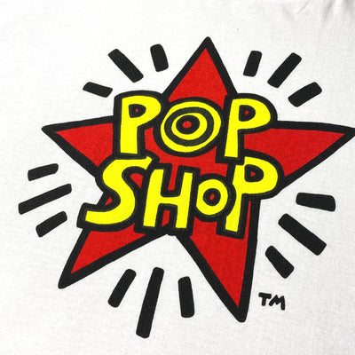 Late 80's Keith Haring Pop Shop T-Shirt