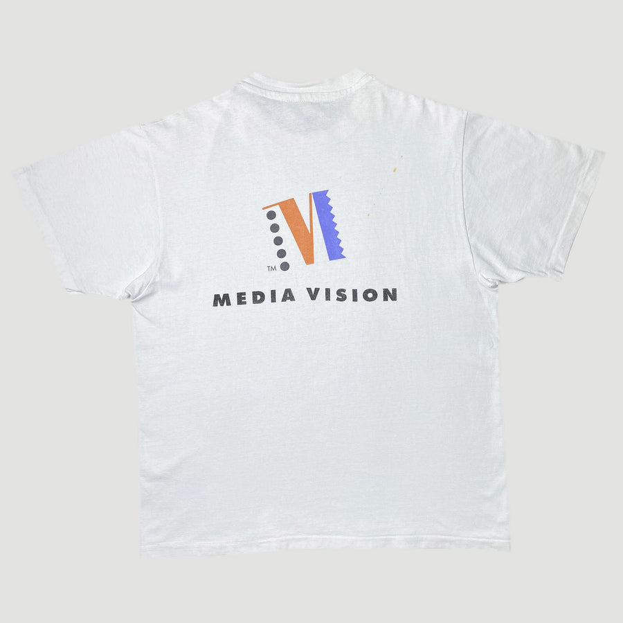 Early 90's Media Vision T-Shirt