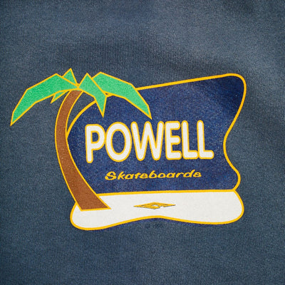 1993 Powell 'Palm Tree' Graphic Sweatshirt