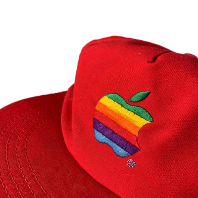 80's Apple Snapback Cap