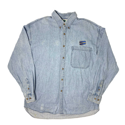 90's Blockbuster Denim Staff Shirt