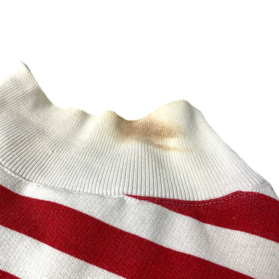 Late 80's USA Stars & Stripes Button Sweatshirt