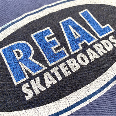 90's Real Skateboards logo T-Shirt