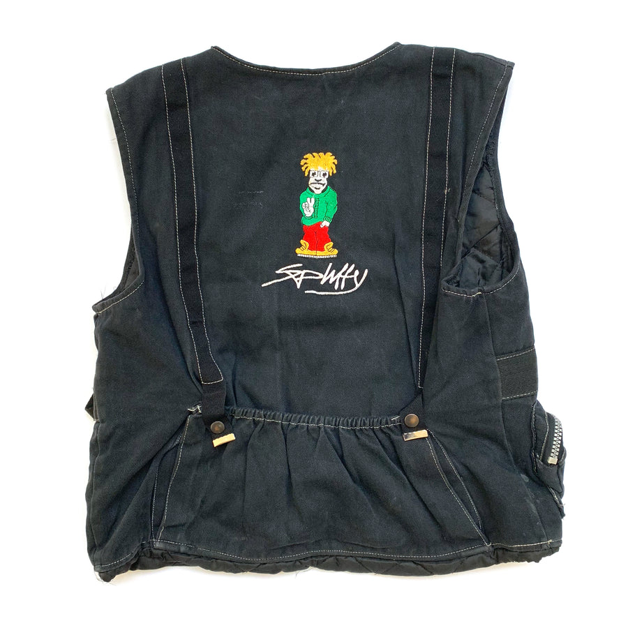 90's Spliffy 5 Pocket Workvest Jacket