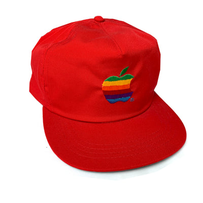 Late 80's Apple Cotton Snapback Cap