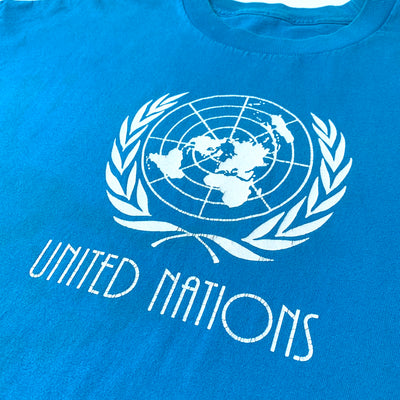 90's United Nations Globe T-Shirt