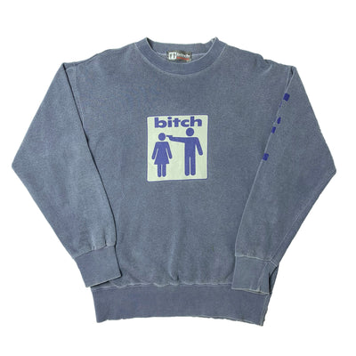 90's Bitch Skateboards Crew Neck Sweatshirt