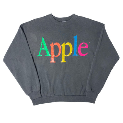 90's Apple Logo Crew Neck Sweatshirt