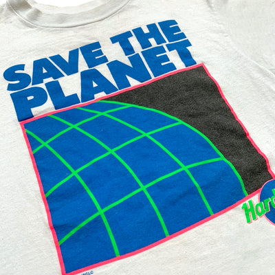 1990 Hard Rock Cafe NY Save The Planet T-Shirt