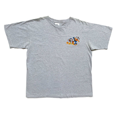 90's Mickey & Co. embroidered Stripe T-shirt