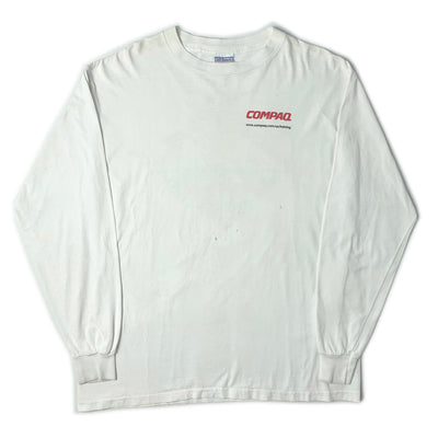 90's Compaq Training Long Sleeve T-Shirt