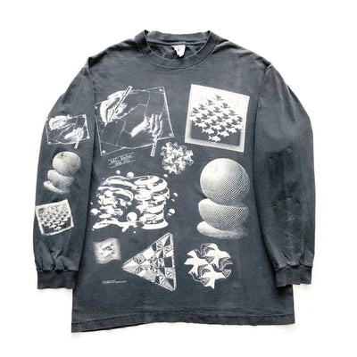 Early 90s M.C. Escher Long Sleeve