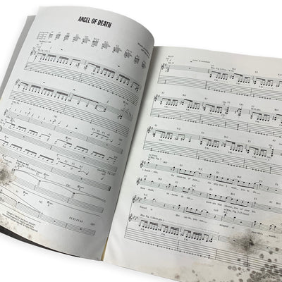 1993 Slayer 'Reign In Blood' Guitar Tab Book