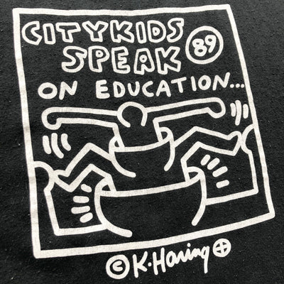 1989 Keith Haring City Kids T-Shirt
