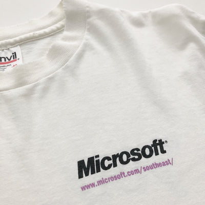 90's Microsoft Where Do You Want To Go Today? T-Shirt