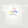 Mid 90's PlayStation Logo T-Shirt - White