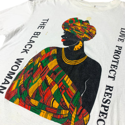 90's Black Woman Love Protect Respect T-Shirt