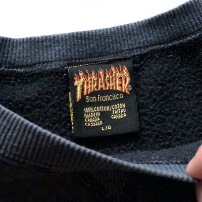 Early 90's Thrasher Crew Neck Sweatshirt