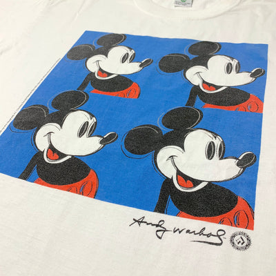 1996 Andy Warhol Mickey Mouse T-Shirt