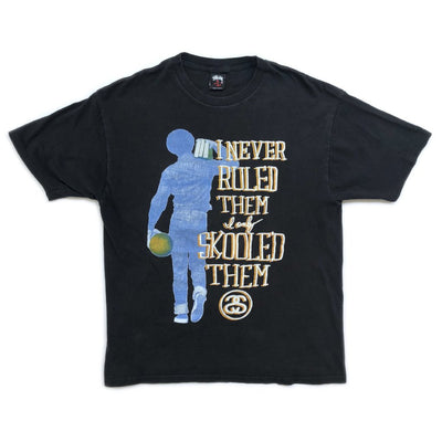 90's Stüssy 'I Never Ruled Them' T-shirt