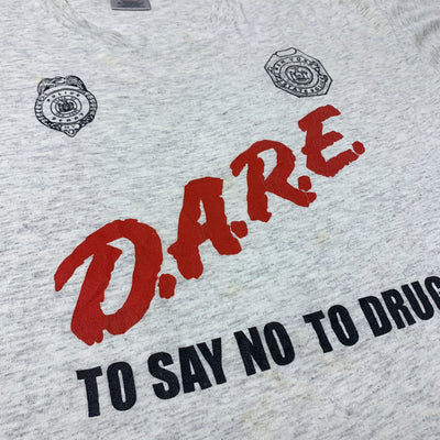 Early 90's D.A.R.E. New York State Police T-shirt