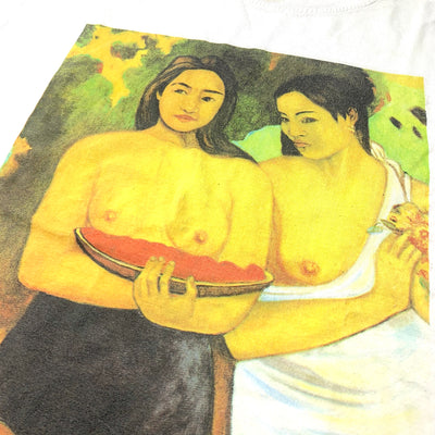 90's Paul Gauguin Two Tahitian Women T-Shirt