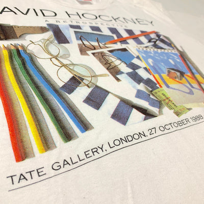 1988 David Hockey Tate Retrospective T-Shirt