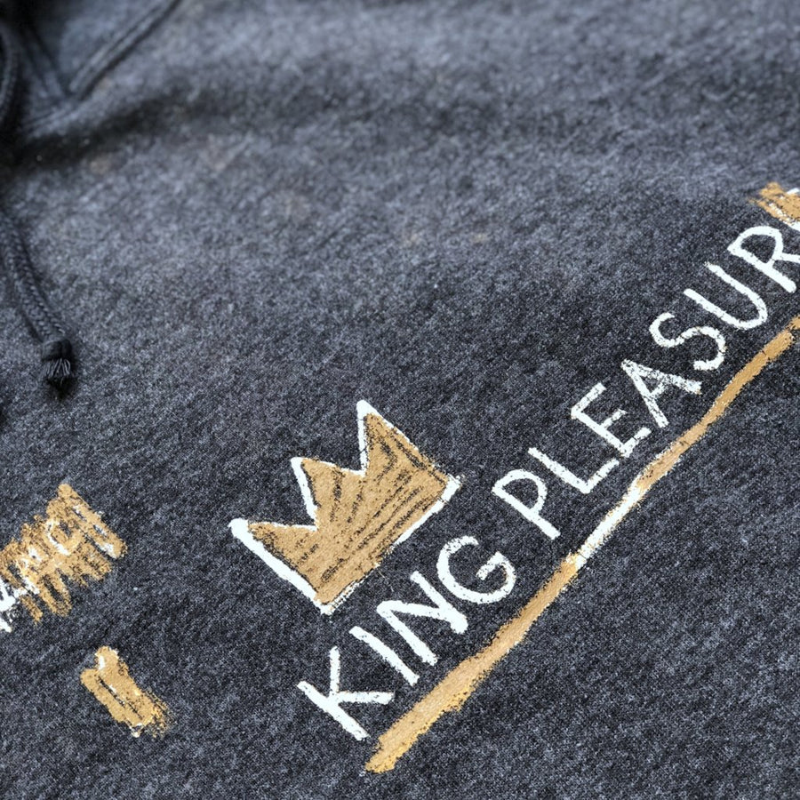 00's Japanese Basquiat 'King Pleasure' Hoodie