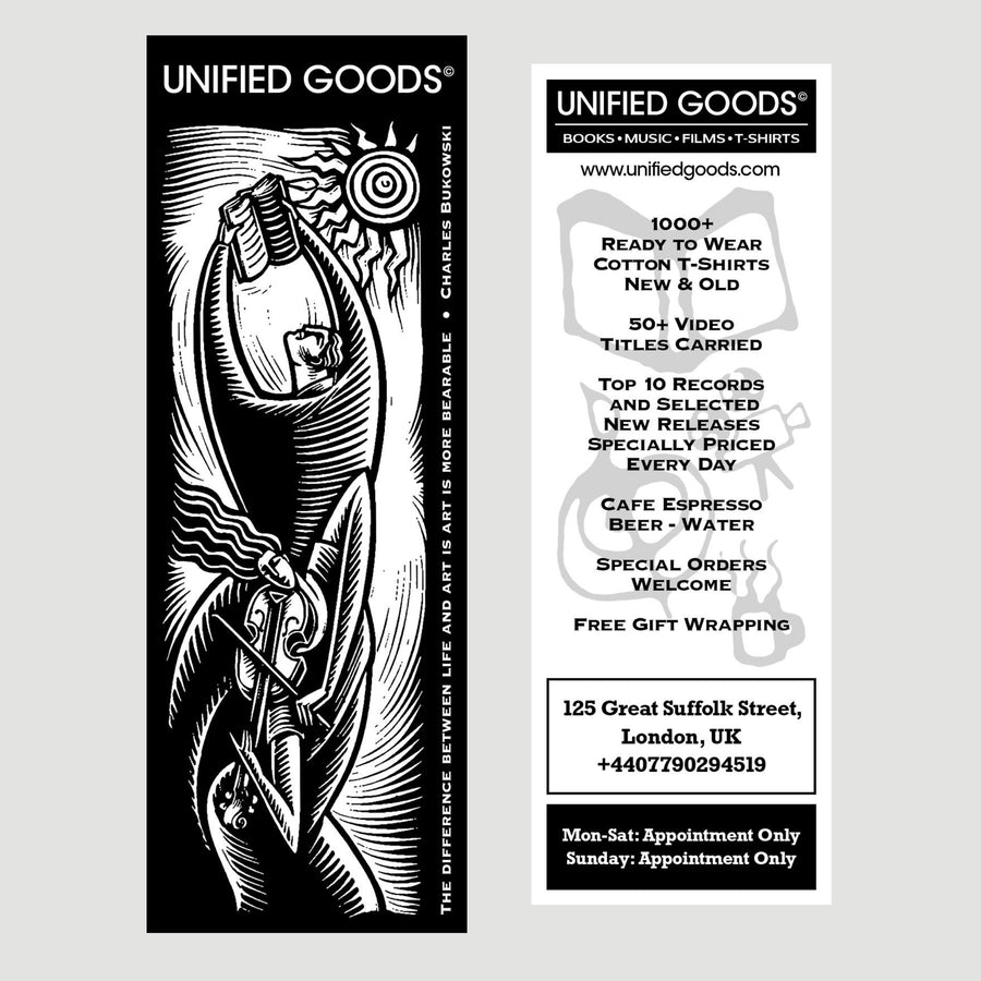 Unified Goods 'Borders' Bookmark