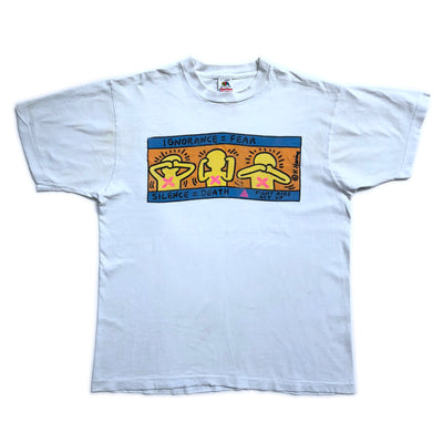 Early 90's Keith Haring Pop Shop T-shirt