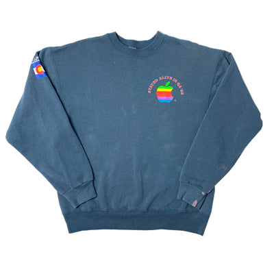 1995 Apple Stayed Alive in '95 Colorado Sweatshirt