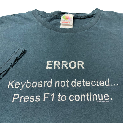 Late 90's F1 Error T-Shirt