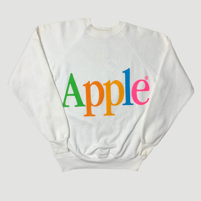 Early 90's Apple Spell Out Logo Sweatshirt