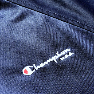 90s Champion USA Logo Trim Zip Track Jacket