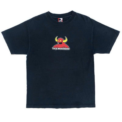 90's Toy Machine Logo Skate T-Shirt