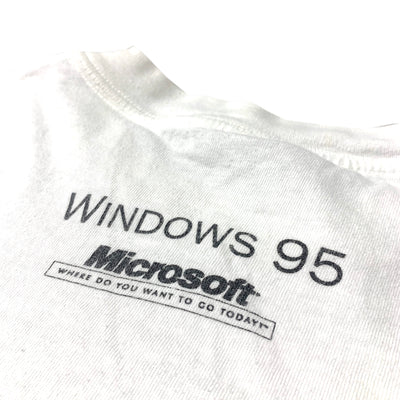1995 Microsoft Windows 95 Launch T-Shirt
