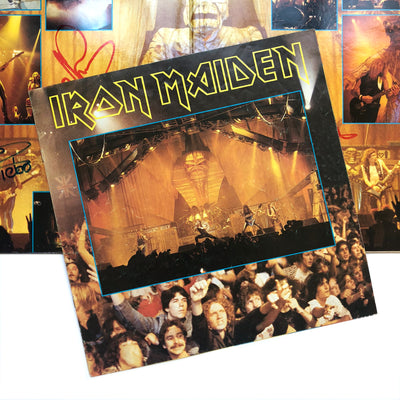 1985 Iron Maiden 'Live After Death' Signed Double Vinyl LP