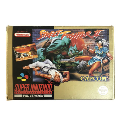 1992 Capcom Streetfighter II Super Nintendo Game