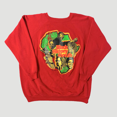 1992 Black History Month Red Sweatshirt