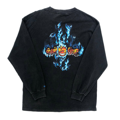 90's Spitfire 'Spit the Fire' Long-sleeved T-shirt