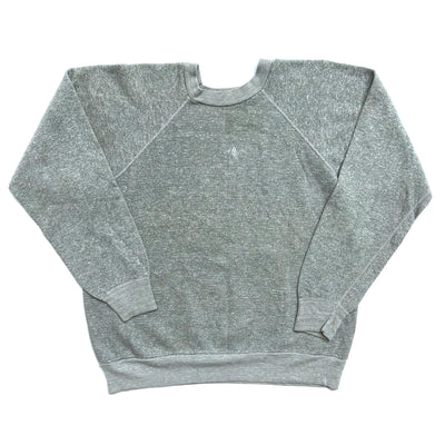 80's US Plain Grey marl Sweatshirt