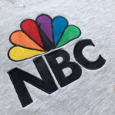 90's Champion NBC Licensed Grey Marl Sweatshirt