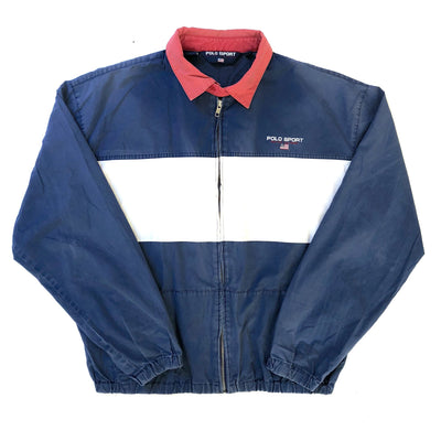 90's Polo Sport Ralph Lauren Zip Shell Jacket