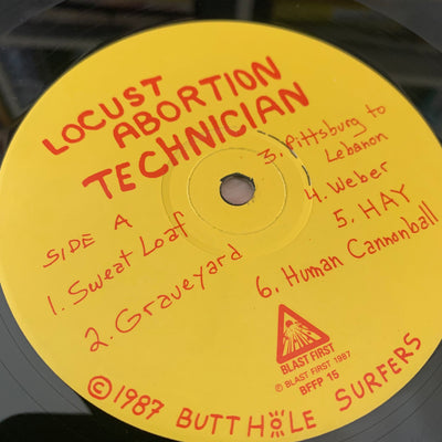 1987 Butthole Surfers Locust Abortion Technician LP
