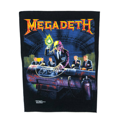 1990 Megadeth 'Rust in peace' Brockum Backpatch