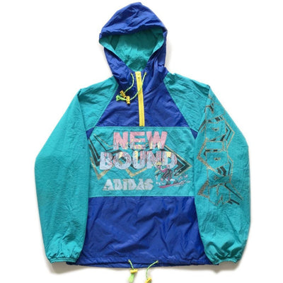 Early 90s Adidas New Bound Pullover Jacket
