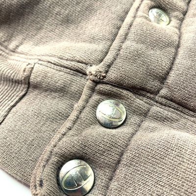90's Champion Reverse Weave Button Sweat
