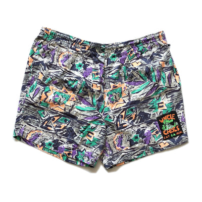 Early 90s Uncle Crocs Surf Shorts