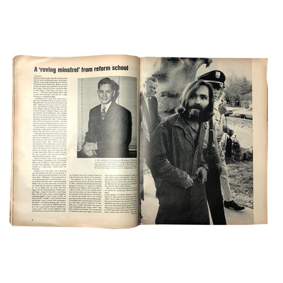 1969 Life Magazine Love Terror Cult Issue